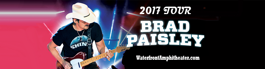 Brad Paisley, Dustin Lynch, Chase Bryant & Lindsay Ell at BB&T Pavilion