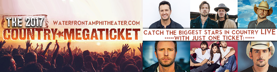2017 Country Megaticket Tickets (Includes All Performances) at BB&T Pavilion