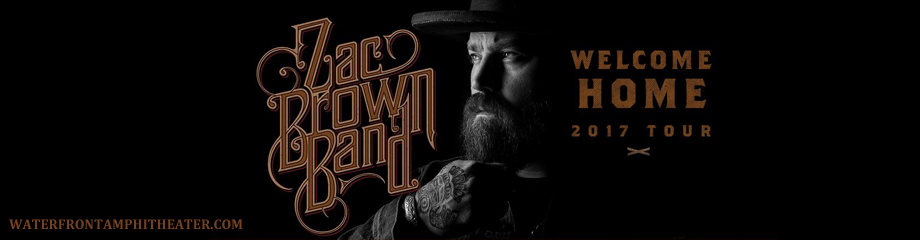 Zac Brown Band Tickets 14th July Bb Amp T Pavilion At