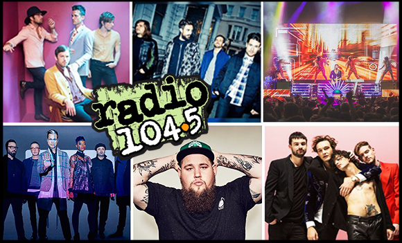 Radio 104.5's 10th Birthday Show: Kings of Leon, Bastille, Empire of the Sun, The 1975, Fitz and the Tantrums & Rag N Bone Man at BB&T Pavilion