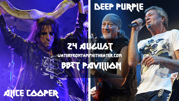 Deep Purple & Alice Cooper at BB&T Pavilion