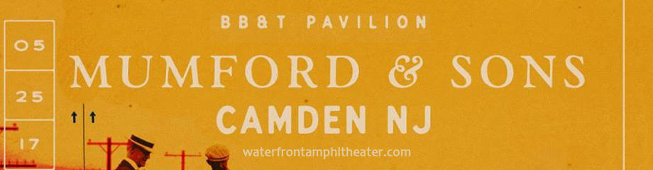 Mumford and Sons at BB&T Pavilion