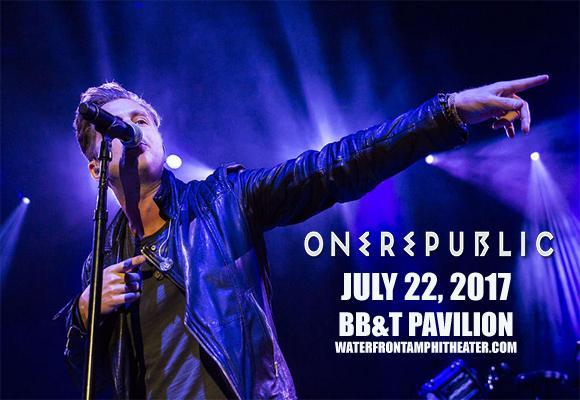 OneRepublic, Fitz and The Tantrums & James Arthur at BB&T Pavilion