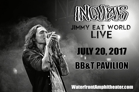Incubus & Jimmy Eat World at BB&T Pavilion