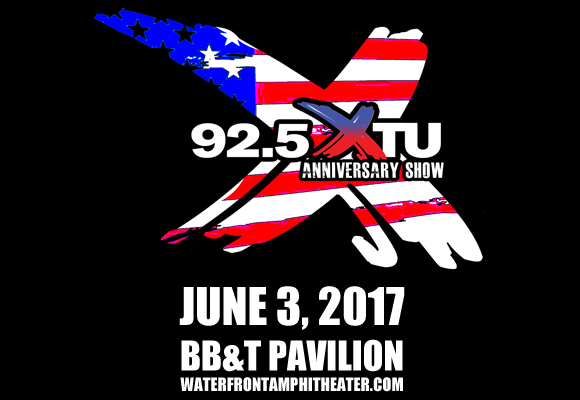 92.5 XTU Anniversary Show at BB&T Pavilion