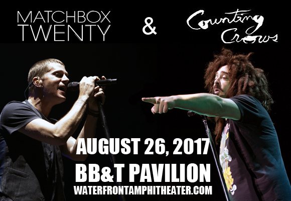 Counting Crows & Matchbox Twenty at BB&T Pavilion
