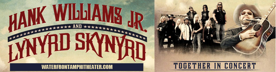 Hank Williams Jr. & Lynyrd Skynyrd at BB&T Pavilion