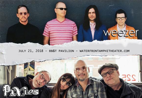 Weezer & Pixies at BB&T Pavilion