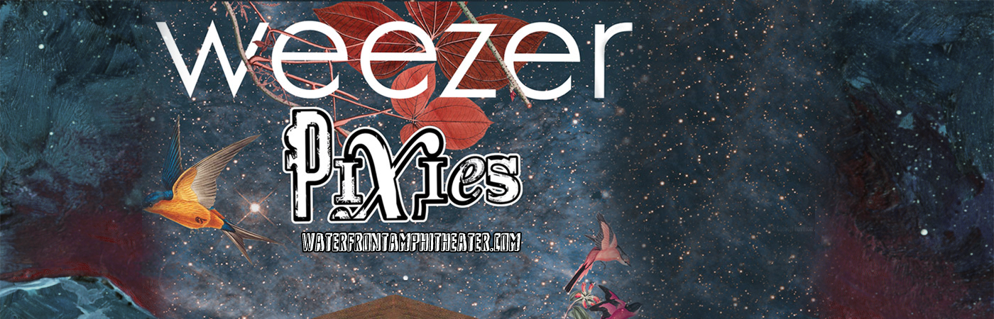 Weezer Amp Pixies Tickets 21st July Bb Amp T Pavilion At