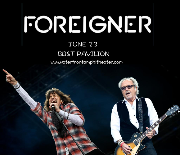 Foreigner at BB&T Pavilion