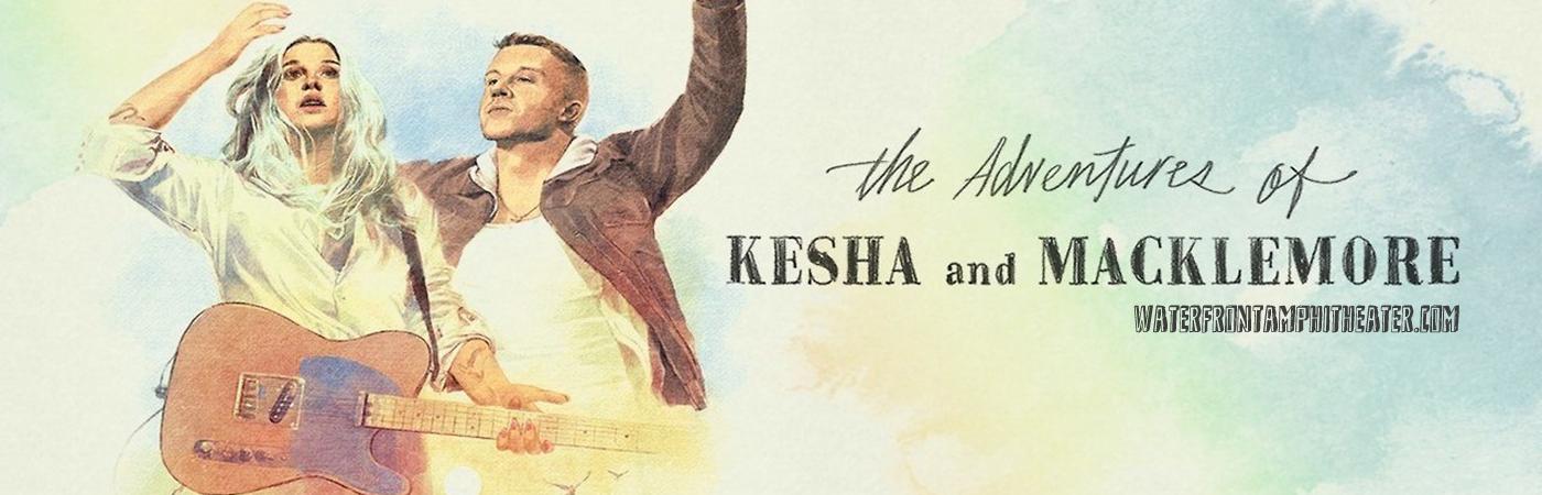 Kesha & Macklemore at BB&T Pavilion