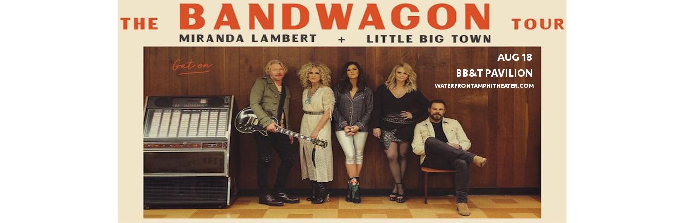 Miranda Lambert & Little Big Town at BB&T Pavilion