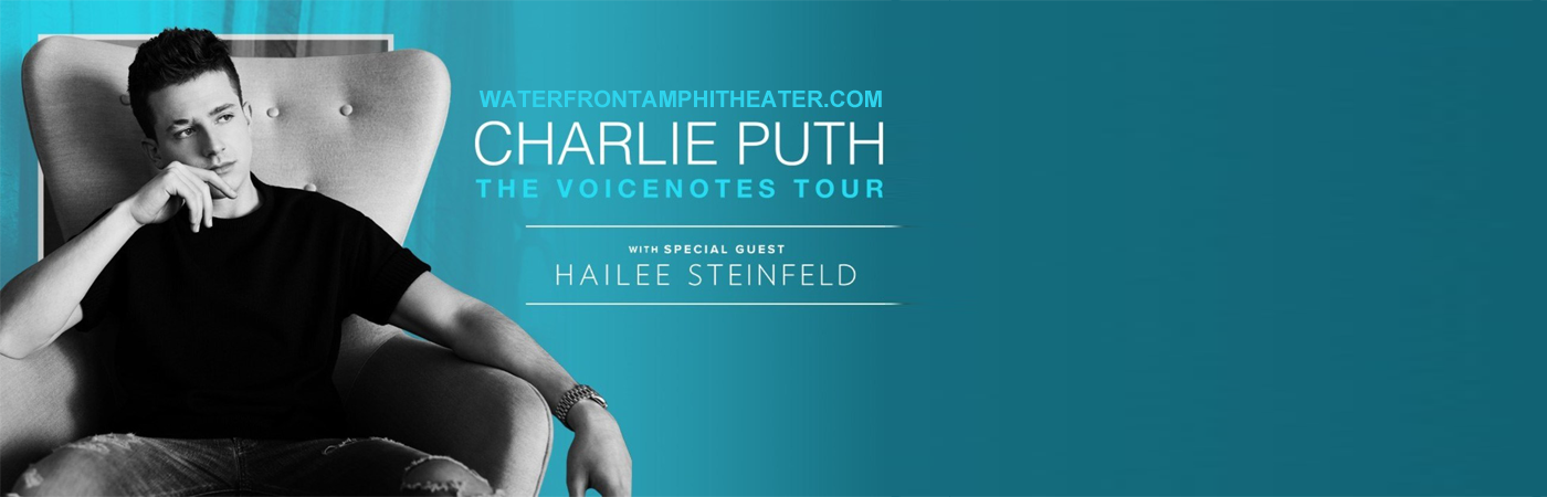 Charlie Puth & Hailee Steinfeld at BB&T Pavilion