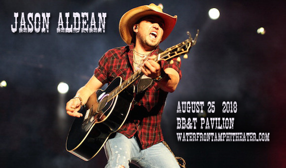 Jason Aldean, Luke Combs & Lauren Alaina at BB&T Pavilion
