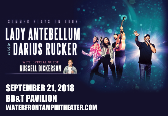 Lady Antebellum, Darius Rucker & Russell Dickerson at BB&T Pavilion