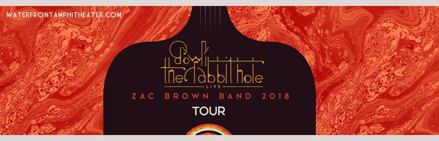 Zac Brown Band Tickets 19th July Bb Amp T Pavilion At