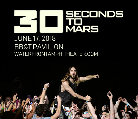 30 Seconds To Mars, Walk The Moon & MisterWives at BB&T Pavilion
