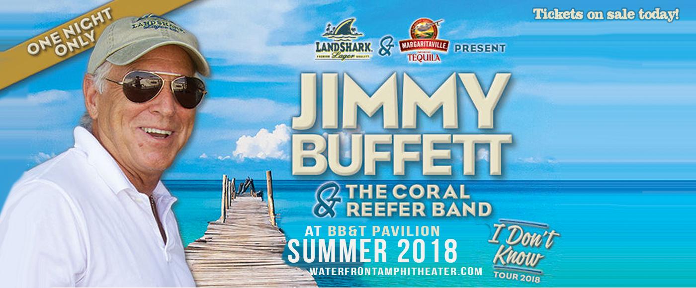 Jimmy Buffett Tickets 5th July Bb Amp T Pavilion At Camden