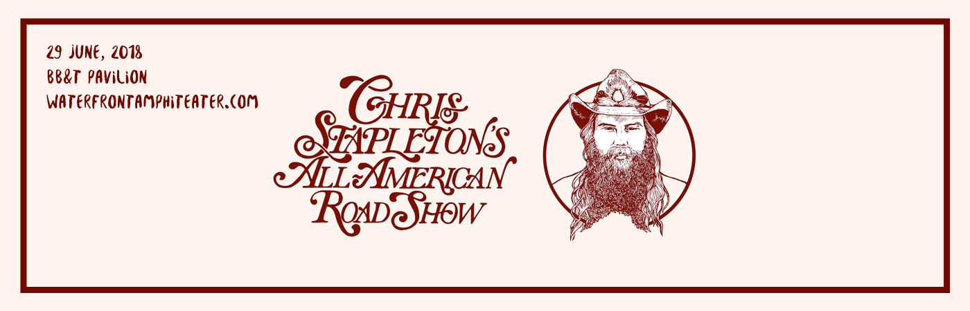 Chris Stapleton, Marty Stuart & Brent Cobb at BB&T Pavilion