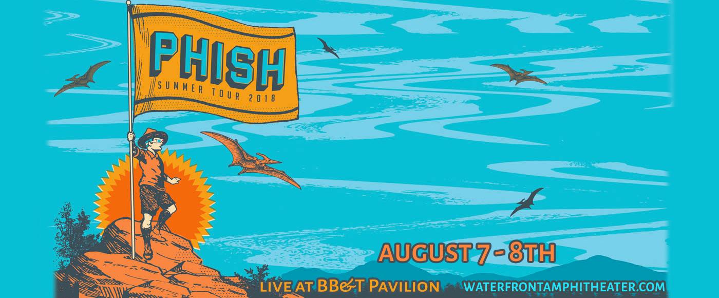 Phish at BB&T Pavilion