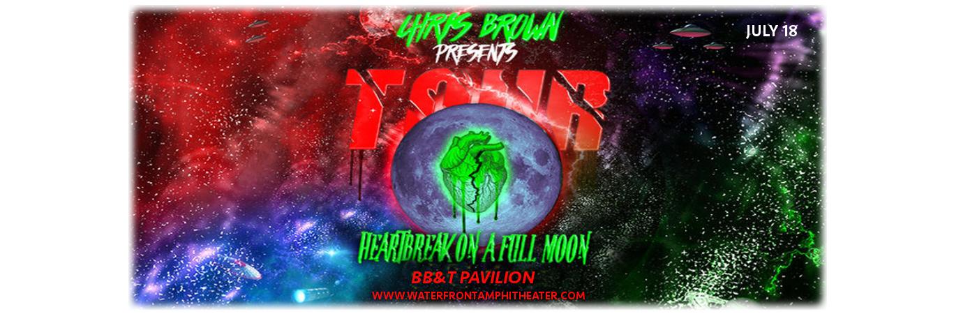 Chris Brown at BB&T Pavilion
