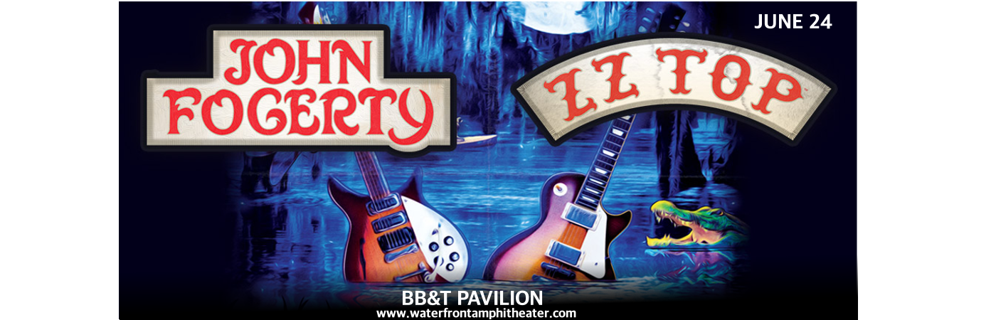 John Fogerty & ZZ Top at BB&T Pavilion
