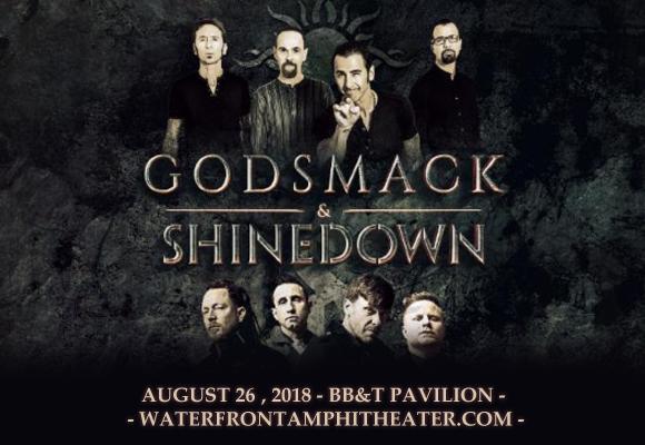 Shinedown & Godsmack at BB&T Pavilion