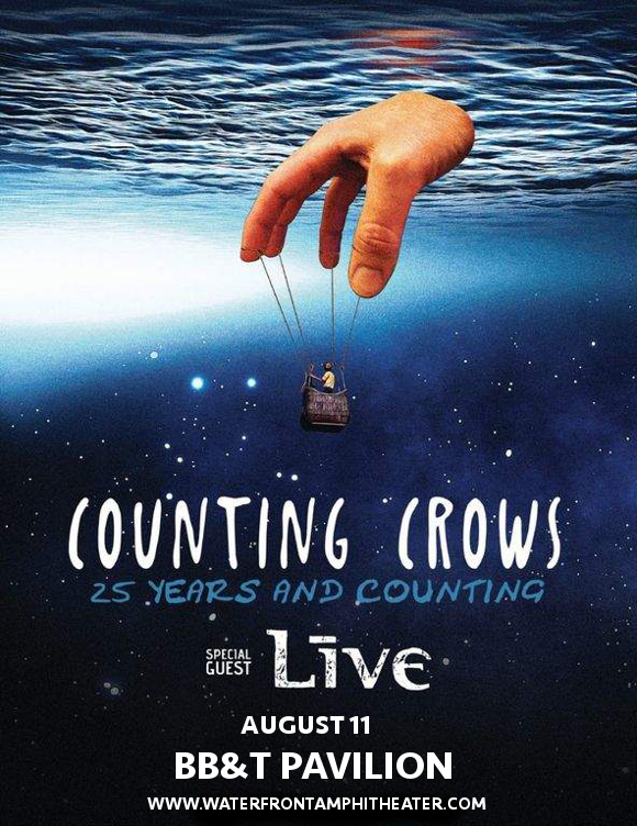 Counting Crows & Live - Band at BB&T Pavilion