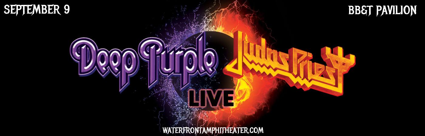Deep Purple Amp Judas Priest Tickets 9th September Bb Amp T Pavilion At Camden New Jersey