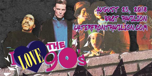 I Love The 90s: Salt N Pepa, Coolio, Biz Markie, Rob Base & 2 Live Crew at BB&T Pavilion