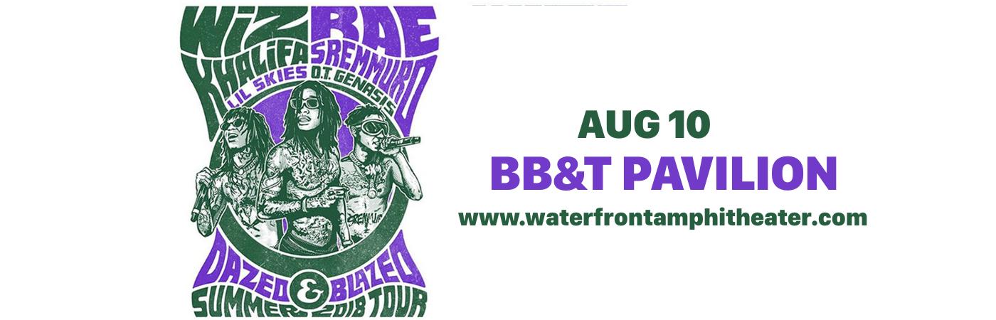 Wiz Khalifa & Rae Sremmurd at BB&T Pavilion