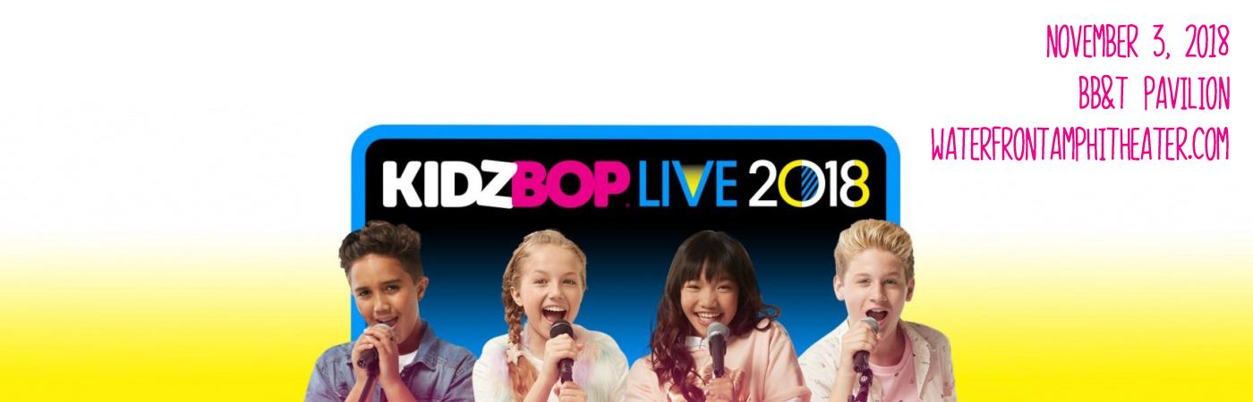 Kidz Bop Live at BB&T Pavilion