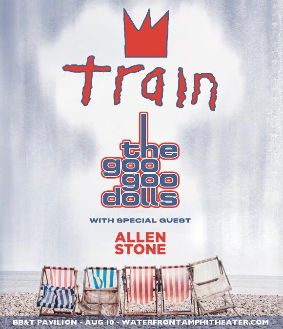Train, Goo Goo Dolls & Allen Stone at BB&T Pavilion