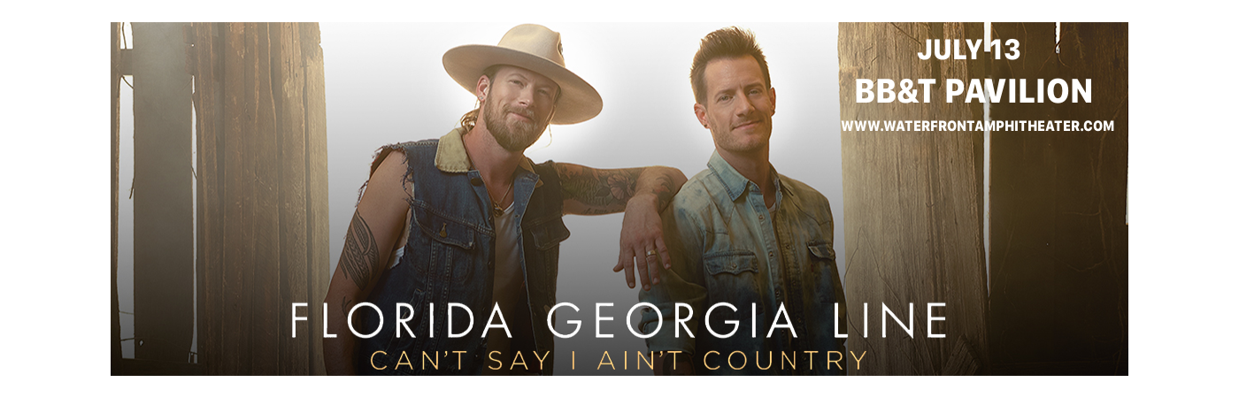 Florida Georgia Line, Dan and Shay & Morgan Wallen at BB&T Pavilion