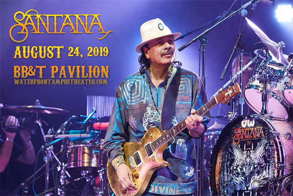 Santana at BB&T Pavilion