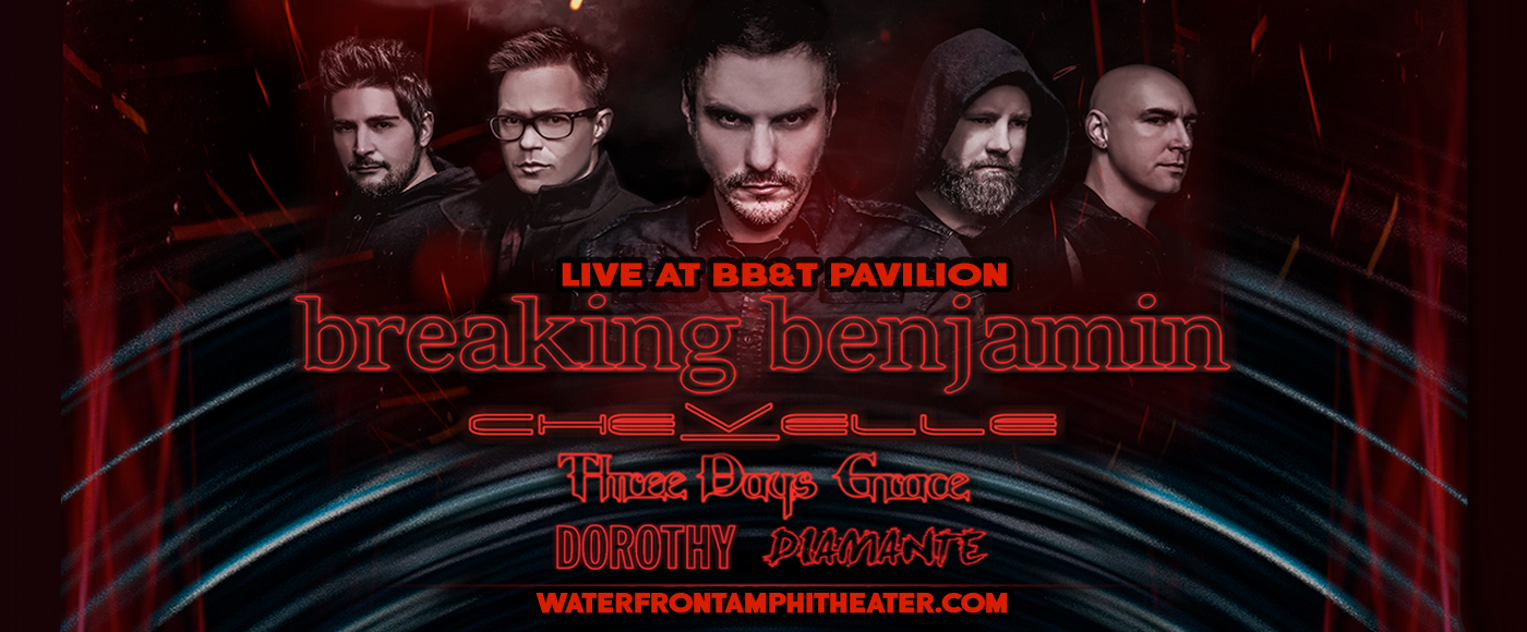Breaking Benjamin at BB&T Pavilion