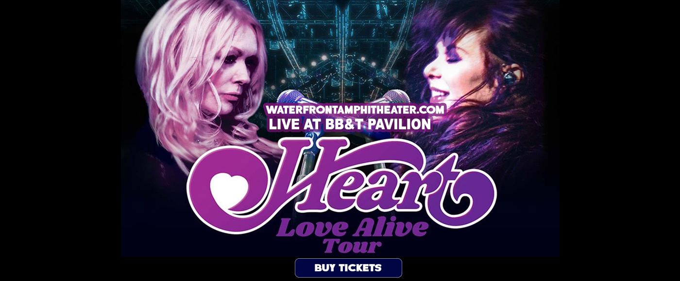 Heart, Joan Jett and the Blackhearts & Elle King at BB&T Pavilion