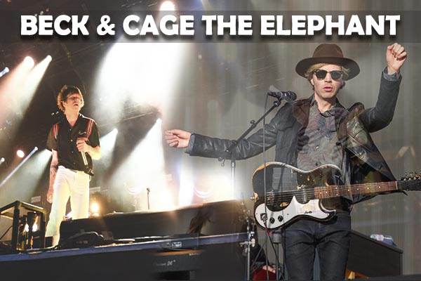 Beck & Cage The Elephant at BB&T Pavilion