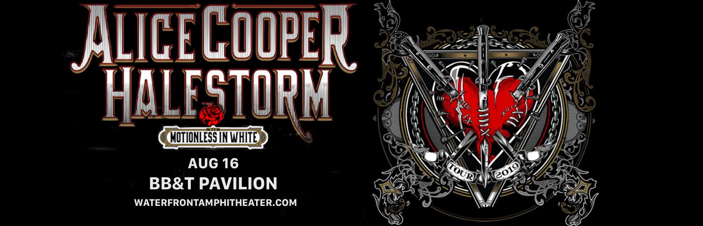 Alice Cooper & Halestorm at BB&T Pavilion