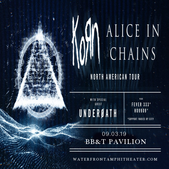 Korn & Alice In Chains at BB&T Pavilion