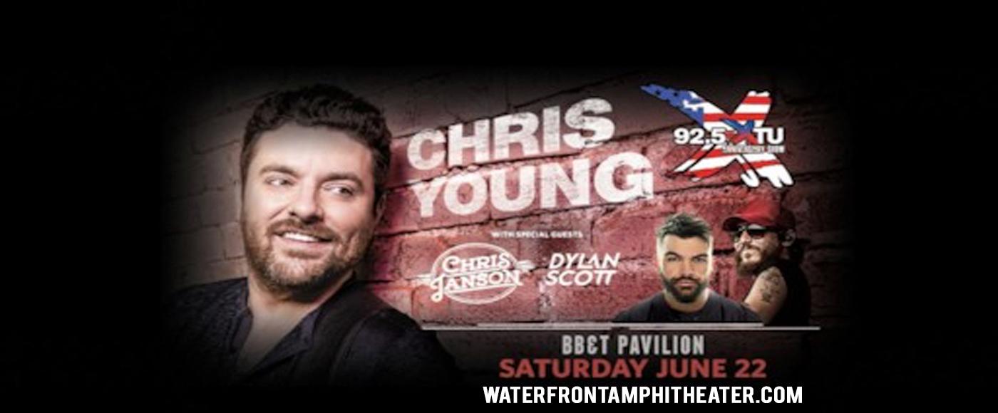 92.5 XTU Anniversary Show: Chris Young & Chris Janson at BB&T Pavilion