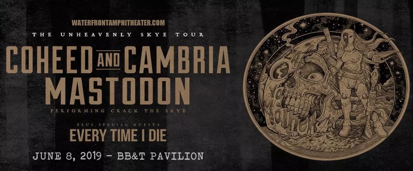 Coheed and Cambria & Mastodon at BB&T Pavilion