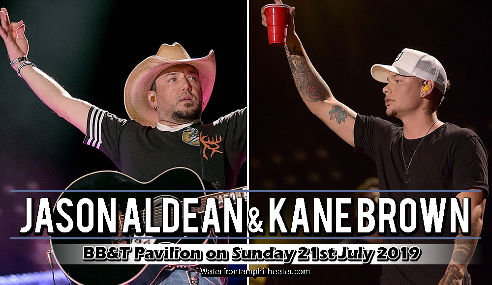 Jason Aldean & Kane Brown at BB&T Pavilion