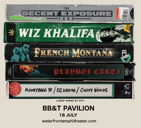 Wiz Khalifa & French Montana at BB&T Pavilion