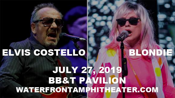 Elvis Costello & Blondie at BB&T Pavilion