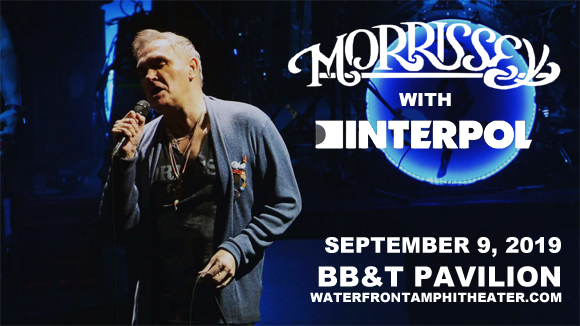 Morrissey & Interpol at BB&T Pavilion