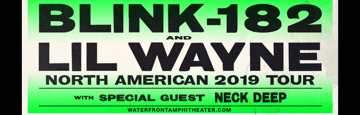 Blink 182 & Lil Wayne at BB&T Pavilion