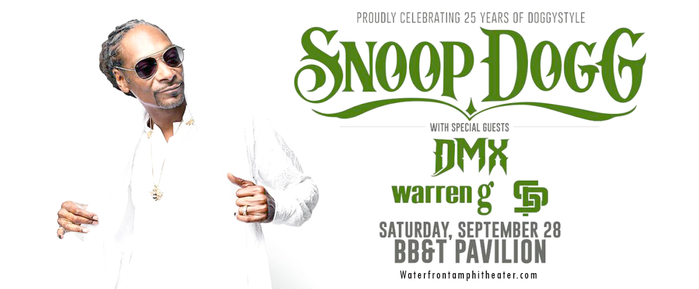Snoop Dogg at BB&T Pavilion