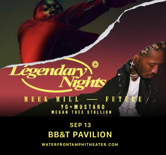 Meek Mill & Future at BB&T Pavilion