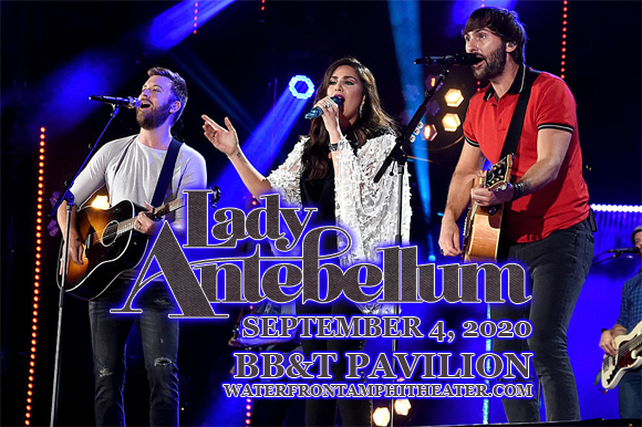 Lady Antebellum, Jake Owen & Maddie and Tae at BB&T Pavilion
